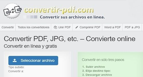 Convertidor Online Universal de Archivos