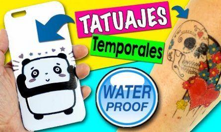 Manualidad, tatuajes, Casero, Calcomanía, Imprimir, Papeles, Láminas, Adhesivo, Silhouette, temporal, canalmenorca.com