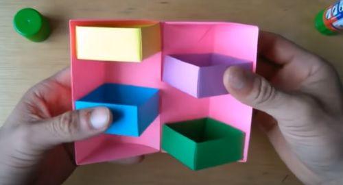 Armario Cajones Secretos de Origami