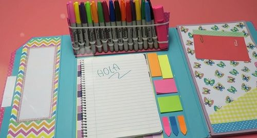 Organizador de Escritorio Escolar