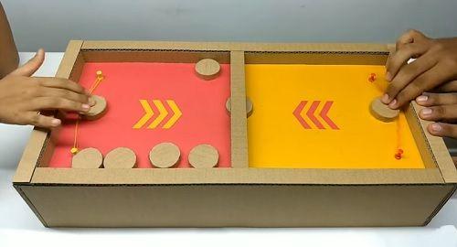 Juego de mesa PUCKET de Cartón