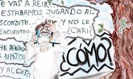 cómic, viñeta, dibujo, tebeo, historieta, arte, caricatura, rincón, julia, Rabiosa, Actualidad, Radiaciones Comiqueras, Cómic, Digital, Desentrenar, Libre, Challange, Desconfinamiento, Infantil, Salir, Calle, coronavirus, covid-19, cuarentena, confinamiento, mascarilla, test, epidemia, pandemia, racomic.com, canalmenorca.com