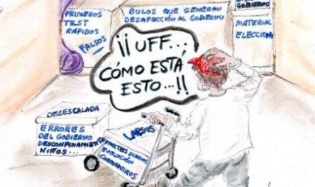 cómic, viñeta, dibujo, tebeo, historieta, arte, caricatura, rincón, julia, Rabiosa, Actualidad, Radiaciones Comiqueras, Cómic, Digital, Caos, improvisación, desacuerdo, Expertos, Opinión, Desconcertante, Gobierno, PSOE, UP, Mentiras, Ocultación, Concordia, coronavirus, covid-19, cuarentena, confinamiento, mascarilla, test, epidemia, pandemia, racomic.com, canalmenorca.com