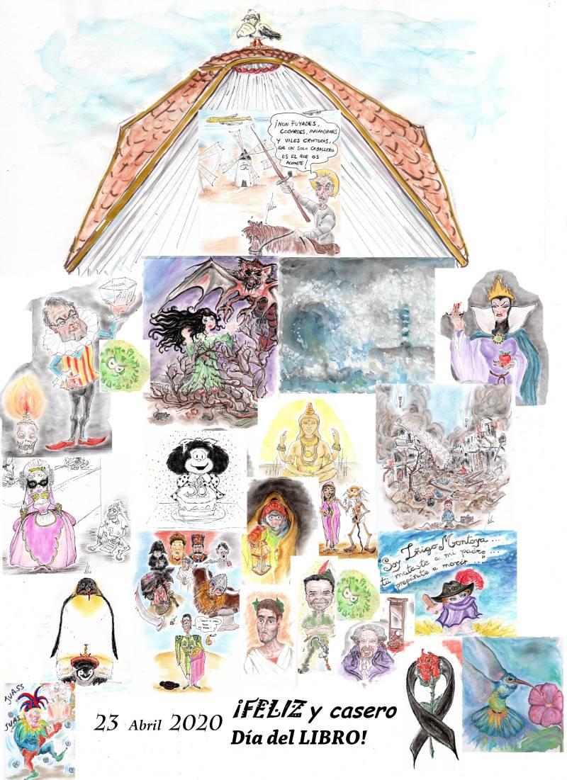 cómic, viñeta, dibujo, tebeo, historieta, arte, caricatura, rincón, julia, Rabiosa, Actualidad, Radiaciones Comiqueras, Cómic, Digital, Libro, Jordi, Castilla, León, Comuneros, Casero, coronavirus, covid-19, cuarentena, confinamiento, mascarilla, test, epidemia, pandemia, racomic.com, canalmenorca.com