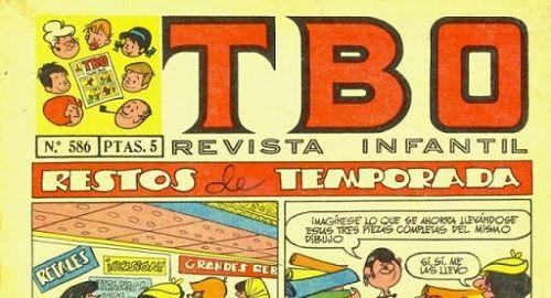Revista de historietas «TBO»