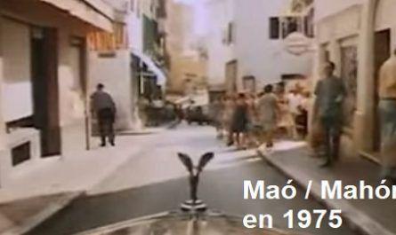 Maó, Mahón, Menorca, Islas, Baleares, España, Película, Mosca, Hispánica, Nadiuska, tráiler, Ayuntamiento, canalmenorca.com