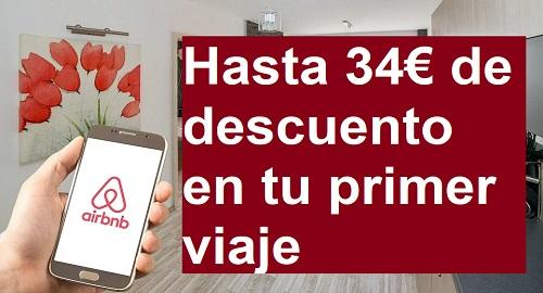 AIRBNB Oferta de Alojamientos, Hasta 50€ Descuento