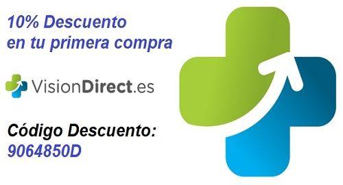 VISION DIRECT, Lentillas 10% Descuento