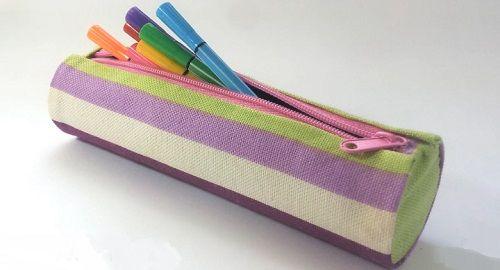 ESTUCHE Cilíndrico para Lápices con tubos de Cartón