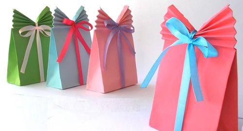 Bolsas de Papel para Regalo (Origami)