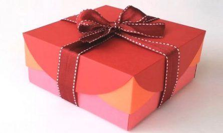 Manualidades, cartón, papel, hoja, doblar, origami, papiroflexia mano, juguete, CAJA REGALO, Sin Plantilla, Innova, canalmenorca.com