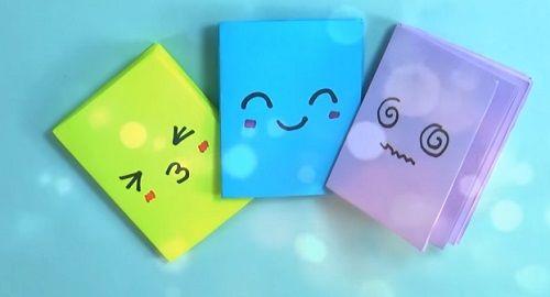Mini Libretas fáciles con UNA sola hoja de Papel (Origami)