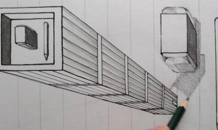 Perspectiva, Dibujo Lineal, Escuadra, Cartabón, lápices, Vídeo Tutorial, Anamórfico, Líneas, Diagonales, 3D, efectos, canalmenorca.com