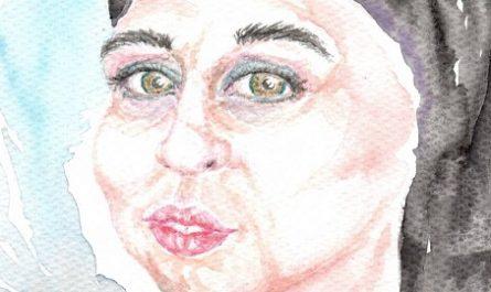 cómic, viñeta, dibujo, tebeo, historieta, arte, caricatura, rincón, julia, Rabiosa, Actualidad, Radiaciones Comiqueras, Cómic, Digital, Cara Mujer, Mascarilla, Acuarela, tiempos extraños, canalmenorca.com