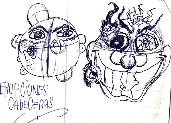 cómic, viñeta, dibujo, caricatura, historieta, tebeo, dibujante, menorquín, inefable, Tommy knockers, Salas, NiñoX, ProtestoneX, Rarezas, Bocetos, esbozos, antropomórfico, visión binocular, radiostésica, estadista mandatario, antigubernamental, callejero vagabundo, ,filamentos cabelludos, dermis pellejera cabezuda, sandeces, mamarachadas, majaderías, gansadas, politicamente incorrecto, gabinetes ministeriales, racomic.com, canalmenorca.com