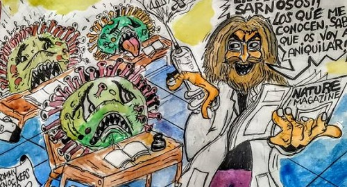 El profesor TUDANCA y los AntiCuerpos