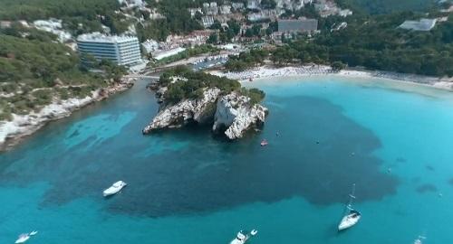 Volando por Menorca