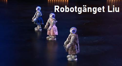 Robotgänget Liu: Los ROBOTS Bailarines