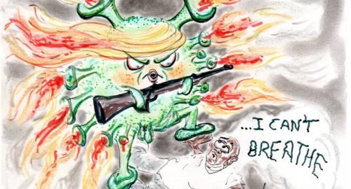 ¡TRUMP desde su 'bunker' incendia América!