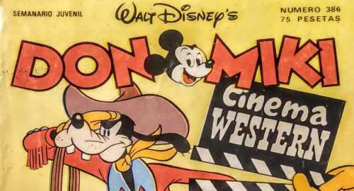 DON MIKI, los Comics de nuestra infancia