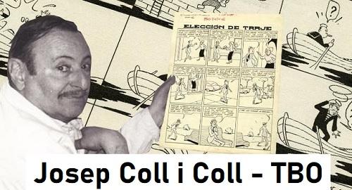 Josep Coll i Coll, el «Albañil» del TBO