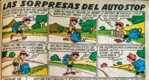 Salvador Mestres «TBO» 'Las Sorpresas del Auto Stop'