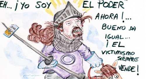 «El Caballero Andante Pablo Iglesias»