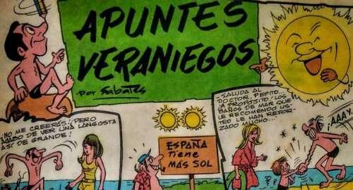 APUNTES VERANIEGOS, Ramón Sabatés TBO