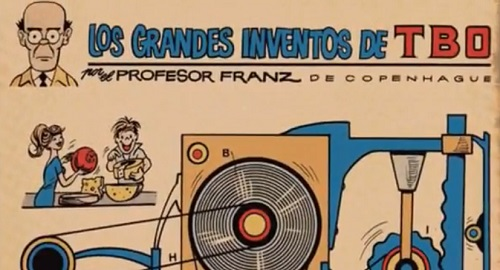 Ramón Sabatés i Massanell (Los Grandes Inventos del TBO)