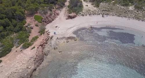 Playa de Algaiarens, Ciutadella, Menorca