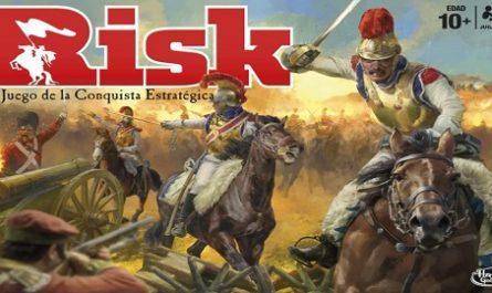 Juegos, de mesa, Risk, Conquista, Estrategia, Cartas Misión, Baules Guerra, Hasbro, canalmenorca.com