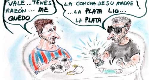 ¡Messi ya NO SE VA!