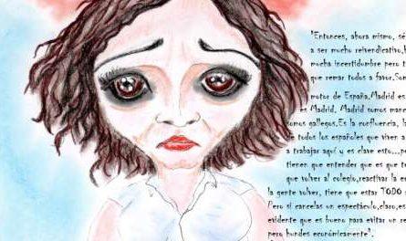 cómic, viñeta, dibujo, tebeo, historieta, arte, caricatura, rincón, julia, Rabiosa, Actualidad, Radiaciones Comiqueras, Cómic, Digital, Desescalada, coronavirus, covid-19, Gestión, Escasa, Tarde, cuarentena, confinamiento, mascarilla, test, epidemia, pandemia, racomic.com, Isabel Díaz Ayuso, Comunidad Madrid, Presidenta, Cine Mudo, Declaraciones, La Sexta Noche, Incertidumbre, Motor de España, Reactivar Economía, Evitar Rebrotes, canalmenorca.com