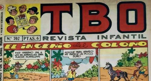 El Incendio del Colono TBO por «Arturo Moreno Salvador»