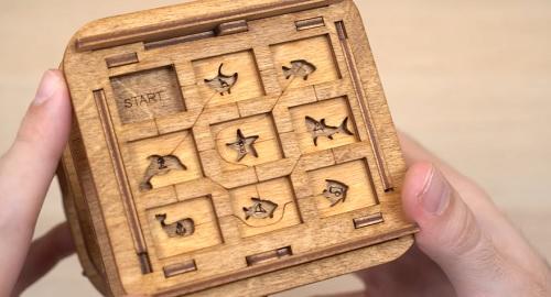 ESCAPE ROOM BOX, abro la caja secreta más difícil