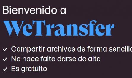 WeTransfer, Enviar Archivos Pesados, Email, Correo Electrónico, Gratis, Sin Registro, Compartir Archivos, Online, canalmenorca.com