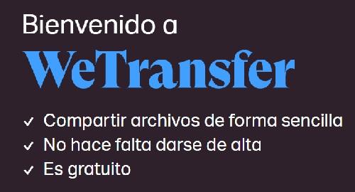 Comparte archivos pesados con WeTransfer Gratis