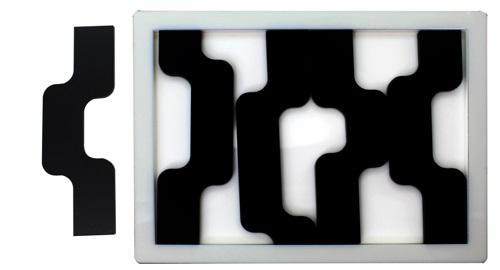 ¿ Cómo encajarías la última pieza ? Wave Puzzle 5