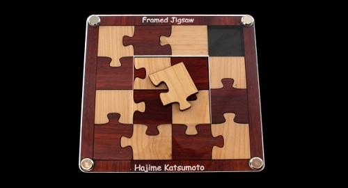 Framed Jigsaw ¿Un Puzzle para Genios?