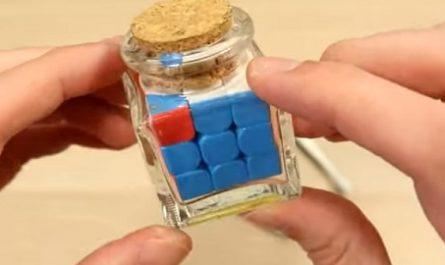 Cubo Rubik, Wargrat, Isidoro, rompecabezas, tridimensional, Emo, Hungría, Cubo mágico, Ideal Toy Company, canalmenorca.com, reto imposible, bote cristal, botella cristal, minicubo