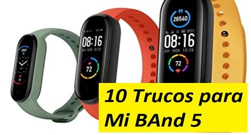 10 TRUCOS INCREÍBLES para tu Mi BAND 5 y AMAZFIT Band 5