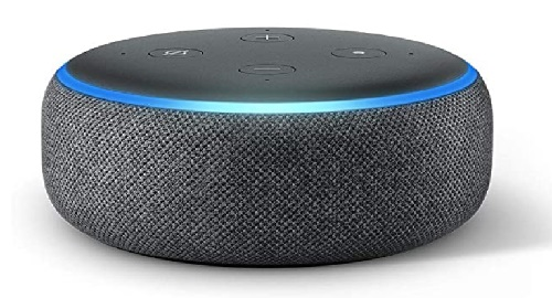 Amazon Echo Dot, 3.ª generación, altavoz inteligente, Streaming, Amazon Musica, Spotify, Tenein, Alexa, Skills, Funciones, Dispositivos, Hogar Digital, Control Voz, privacidad, Micrófonos, Smart Plug, canalmenorca.com