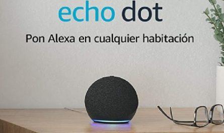 Amazon Echo Dot, 4.ª generación, altavoz inteligente, Streaming, Amazon Musica, Spotify, Tenein, Alexa, Skills, Funciones, Dispositivos, Hogar Digital, Control Voz, privacidad, Micrófonos, Smart Plug, Oferta, Oportunidad, Asistente, Voz, Inteligente, canalmenorca.com