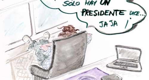 El COpresidente…