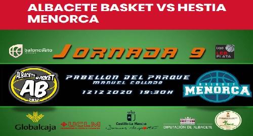 Albacete Basket 58 – Hestia MENORCA 71