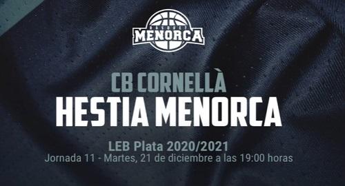 CB Cornellá 54 vs HESTIA MENORCA 74