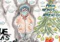 cómic, viñeta, dibujo, tebeo, historieta, arte, caricatura, rincón, julia, Rabiosa, Actualidad, Radiaciones Comiqueras, Cómic, Digital, Desescalada, coronavirus, covid-19, Gestión, Escasa, Tarde, cuarentena, confinamiento, mascarilla, test, epidemia, pandemia, racomic.com, Navidad, El Gordo, Famosa Curva, Muertos Diarios, No aprendemos, Tropezar misma piedra, Nochebuena, Fin de año, Año Nuevo, Día de Reyes, Turrón, Polvorones, Zambombas, Regalos, Uvas, Reloj Puerta Sol, canalmenorca.com