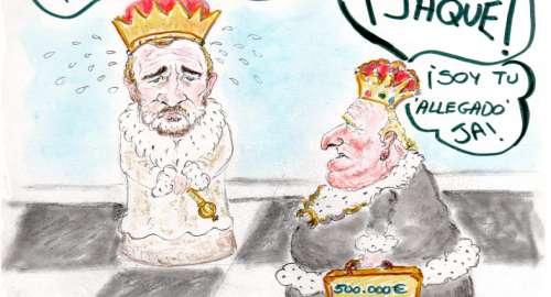¡JAQUE!…del émerito al rey