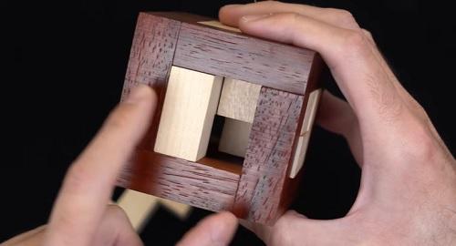 ¿Cómo METERÍAS la CRUZ 3D en la CAJA?