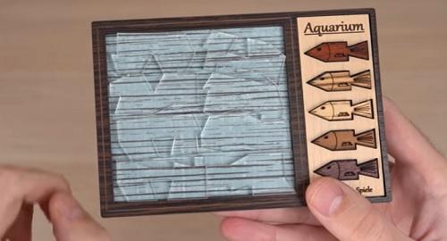 Aquarium Puzzle: Como Meterías Cinco Peces en el Agua